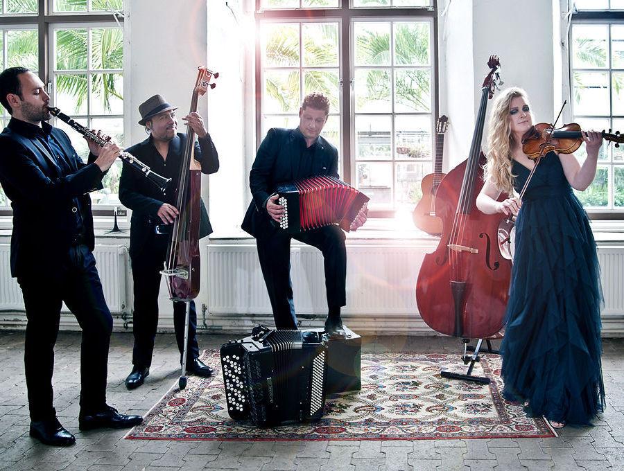 Cuarteto Repentino, Tango, Klezmer, Münster Klassik,